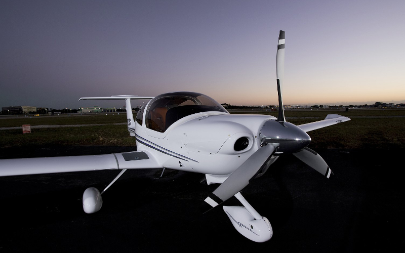 Gill Aviation Diamond aircraft DA40