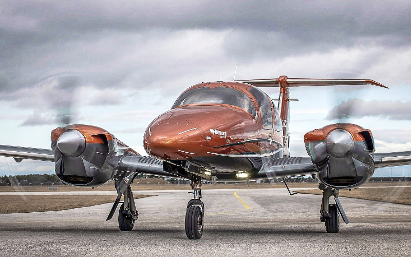 Gill aviation Diamond aircrafts DA62